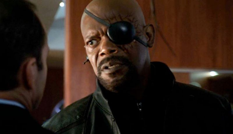 agents of shield nick fury images with coulson