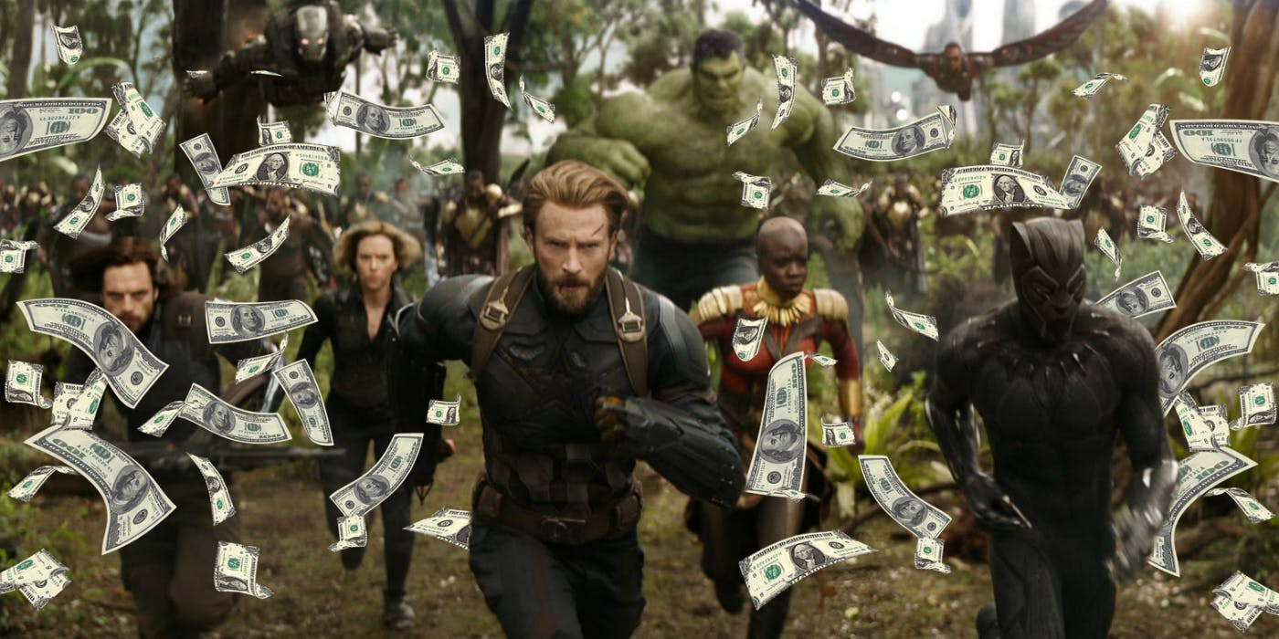 avengers infinity war huge box office
