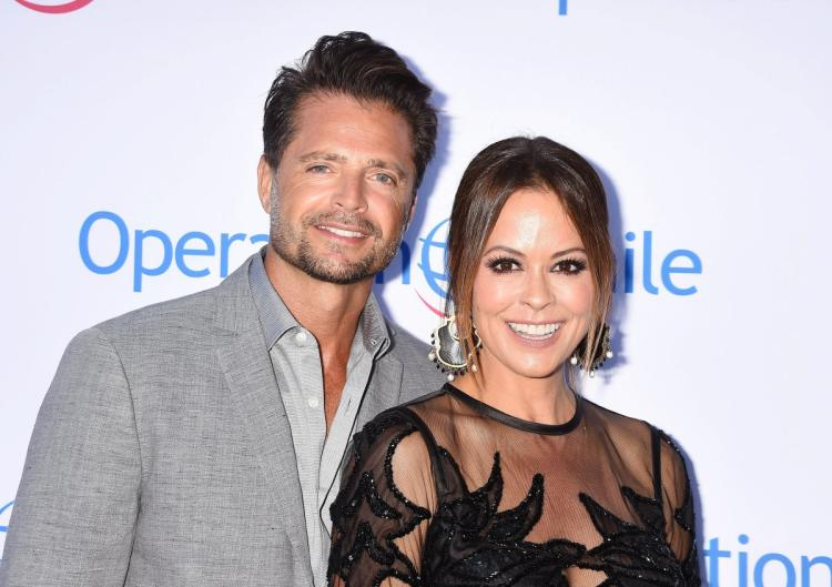 brooke burke sad positive on david charvet breakup