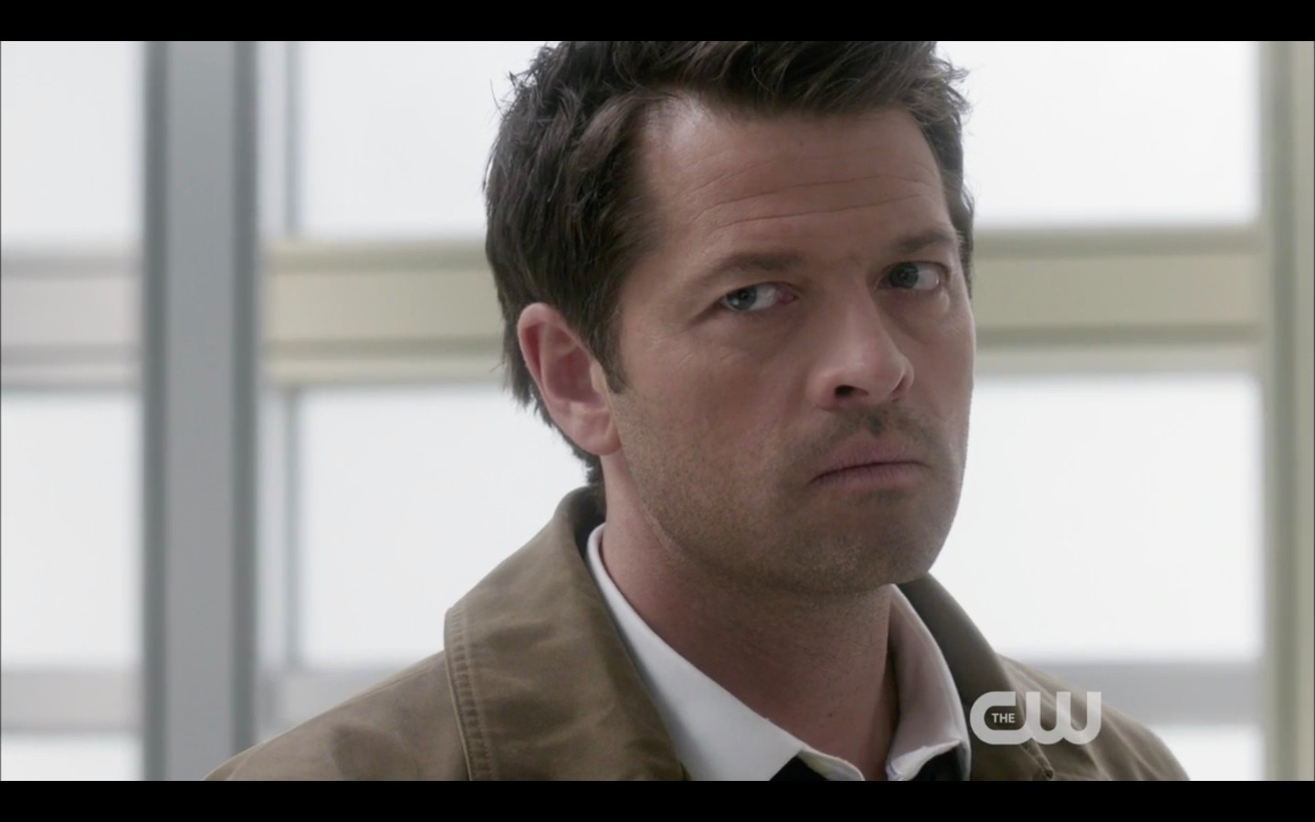 castiel surprise to see duman in supernatural heaven