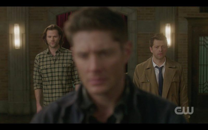 dean angry at supernatural repeating history with sam castiel