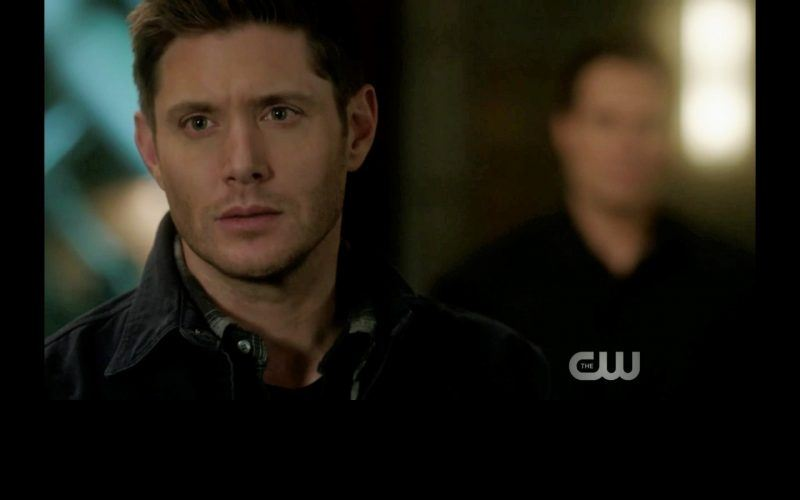 dean mournful look at sam winchester supernatural thing