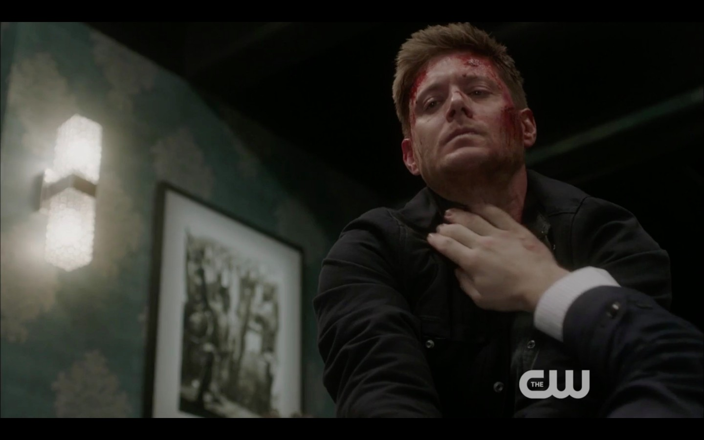 dean winchester choking bernard supernatural 1319