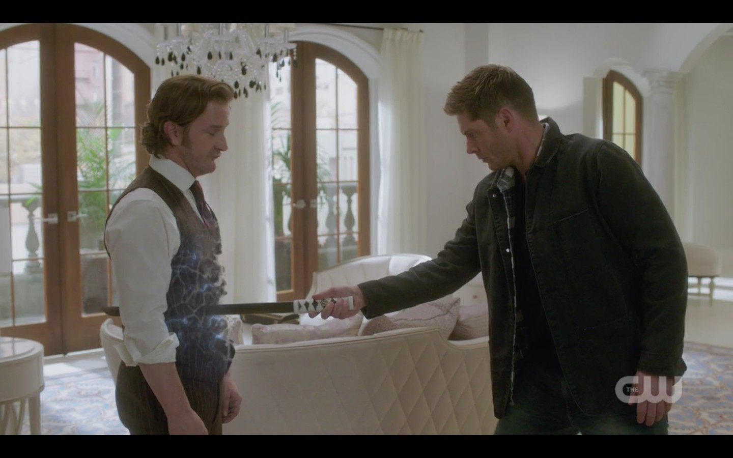 dean winchester to loki you can hit me but i cant hit you