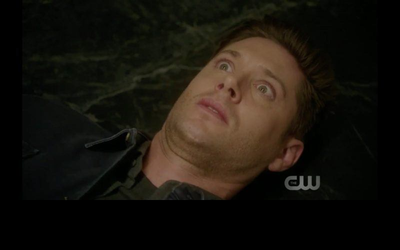 dean winchester wide eye chain woman the thing