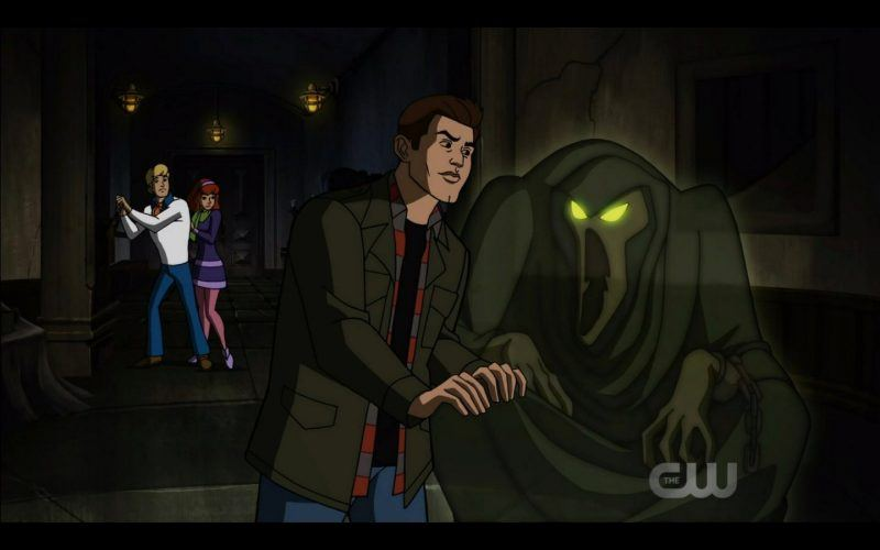 dean winchester with evil ghost scoobynatural