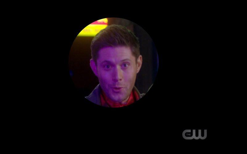 jensen ackles smiling for scoobynatural