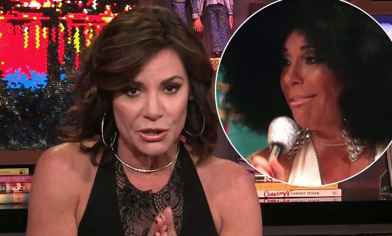 rhony luann lesseps apologizes for diana ross blackface