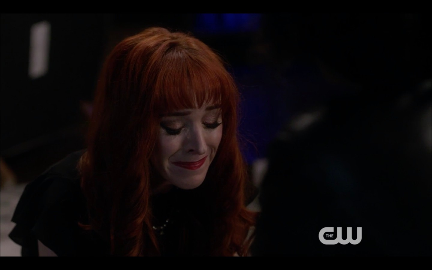 rowena crying that life is unfair by billie supernatural