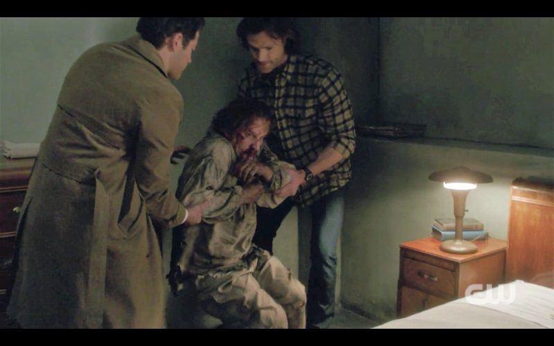 sam and cas helping supernatural gabriel