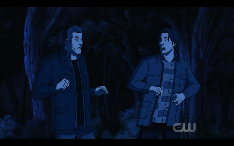 sam dean winchester become animated scoobynatural