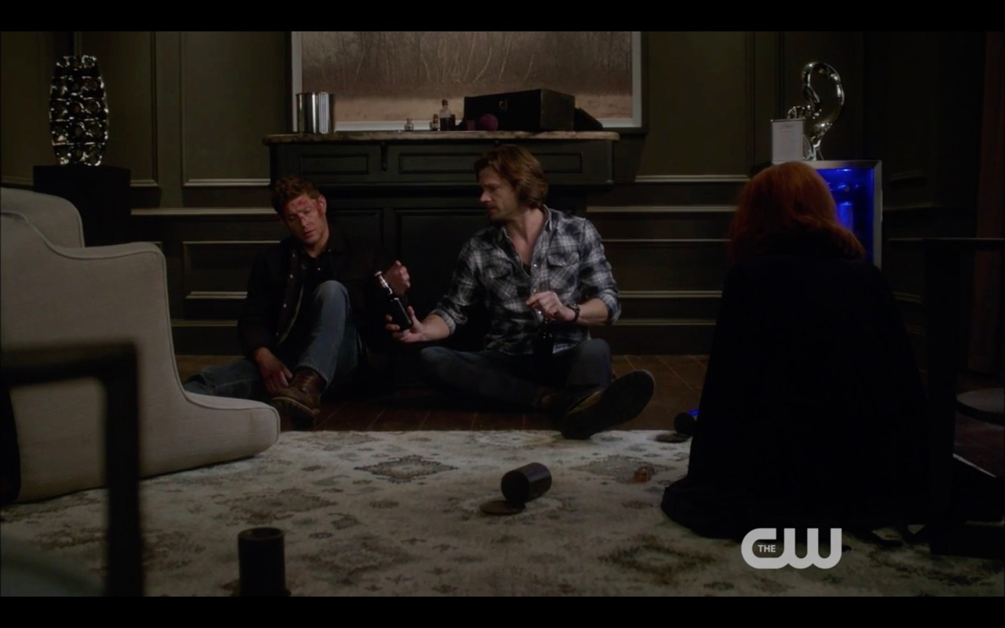 sam dean winchester react with rowena fighting death billie supernatural