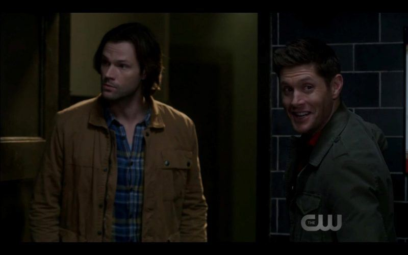 sam dean winchester searching in dark supernatural scooby