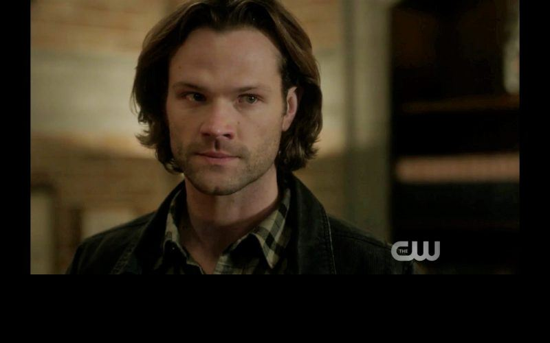 sam winchester angry dean leaving him supernatural the thing