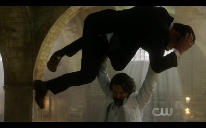 supernatural asmodeus beating up ketch the thing