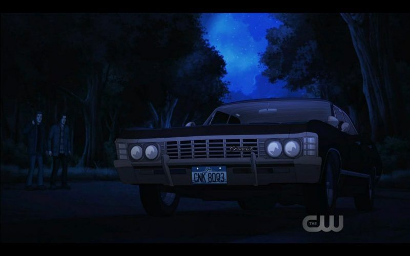 supernatural baby impala cartoon scoobynatural