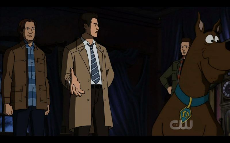 supernatural castiel comes on dean sam winchester scoobynatural