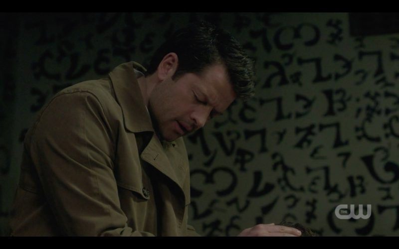 supernatural castiel on and on about porn stars