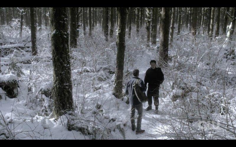 supernatural dean ketch out in snow bring em back alive