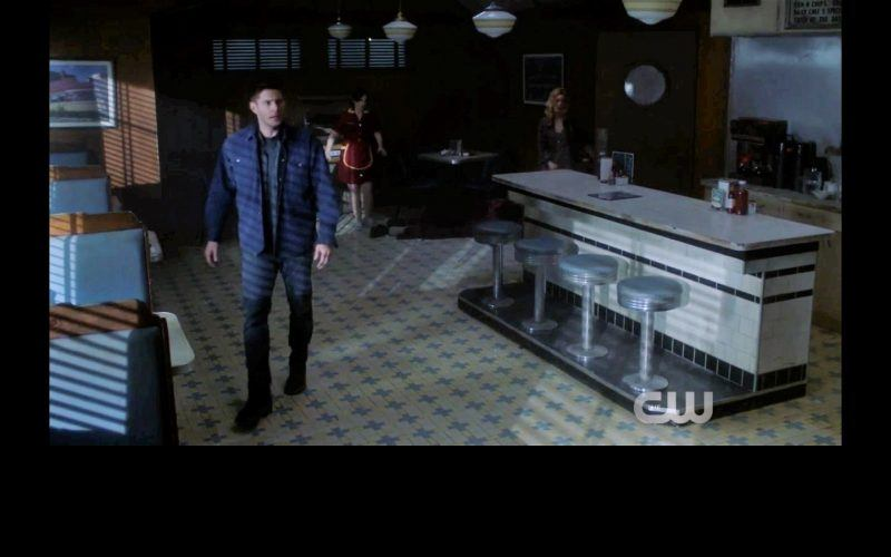 supernatural dean sam winchester fight thing sequence