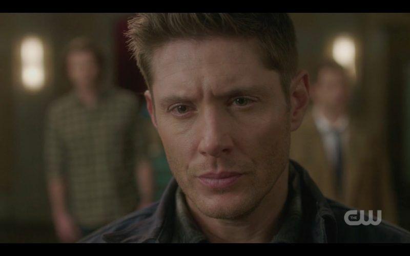 supernatural dean winchester deep anger look
