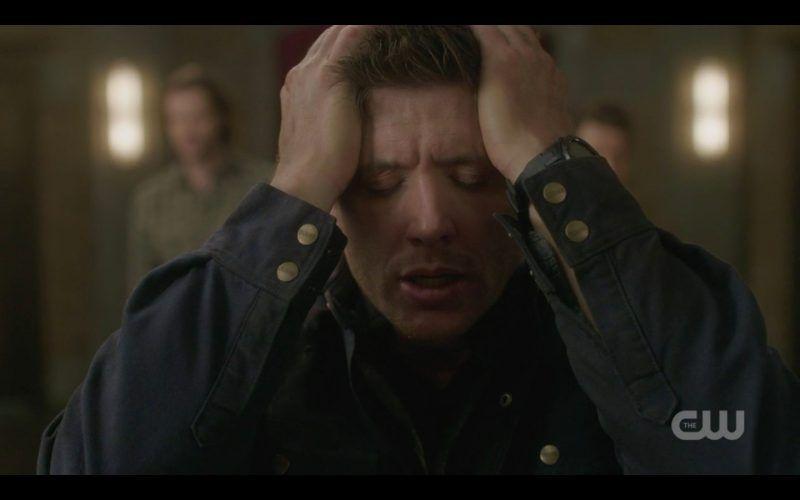 supernatural dean winchester holding head of sam bring em back alive