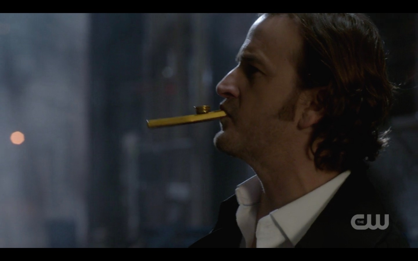 supernatural gabriel lights up cigar 1320
