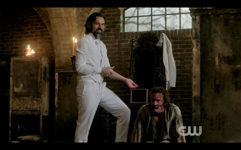 supernatural gabriel with asmodeus the thing