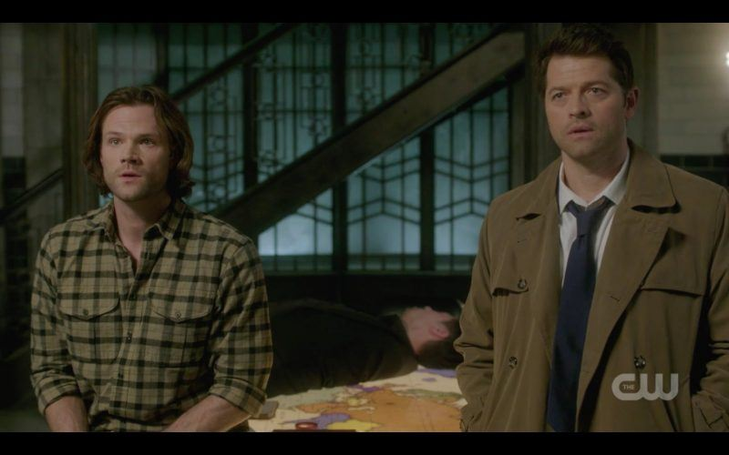 supernatural sam winchester castiel with gabriel