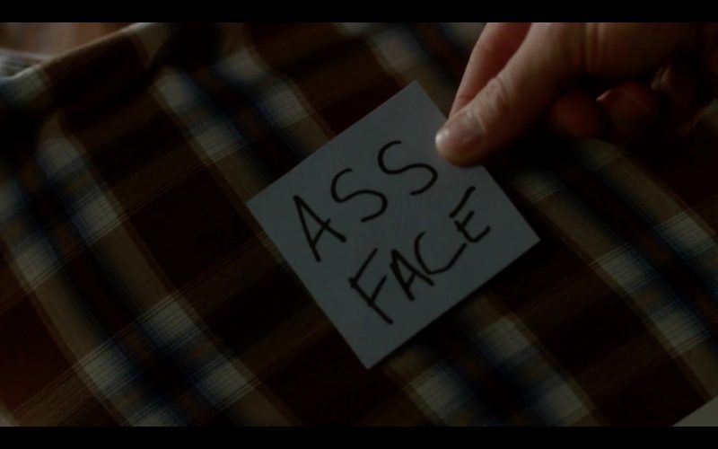 supernatural the thing ass face note from dean winchester