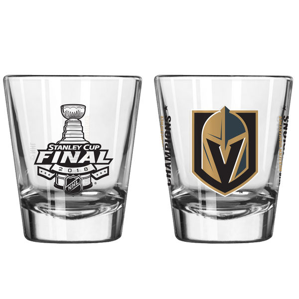 2018 stanley cup finals shot glass gifts