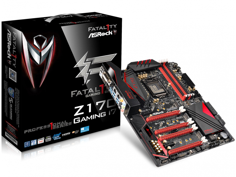 ASRock Fatal1ty Z170 Professional Gaming i7 motherboards images
