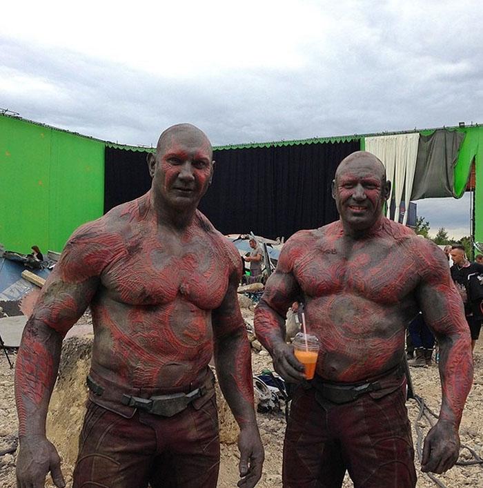 Marvel Avengers actors stunt doubles dave bautista drax 2018 700x532 (10)