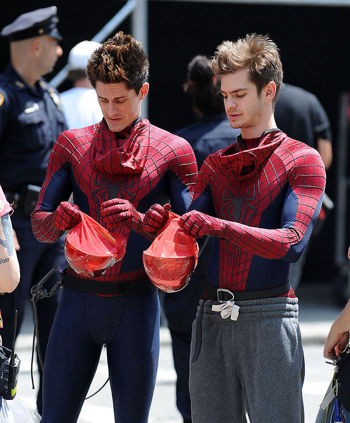 Marvel Avengers actors stunt doubles andrew garfield spider man 2018 700x532 (14)