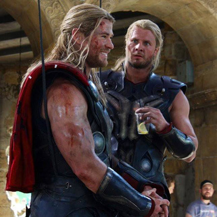 Marvel Avengers actors stunt doubles chris hemsworth bobby holland 2018 700x532 (4)