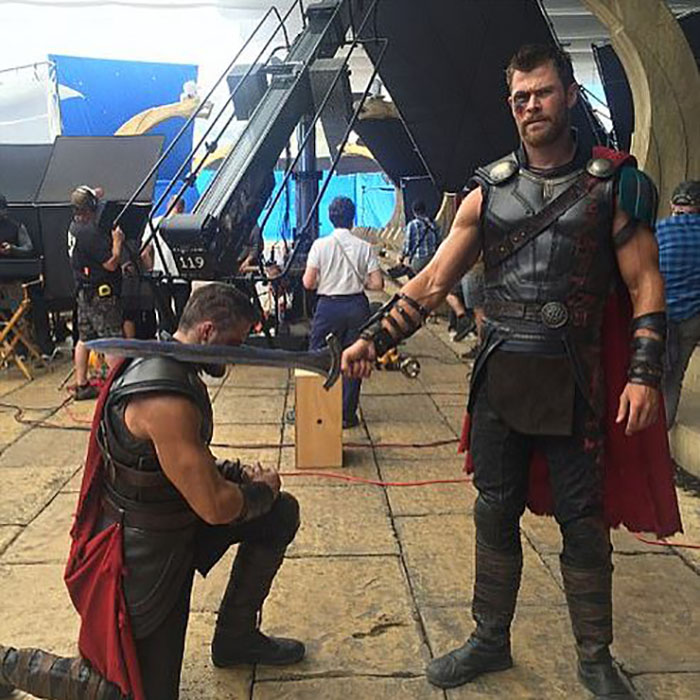 Marvel Avengers actors stunt doubles thor hemsworth bobby holland 2018 700x532 (5)