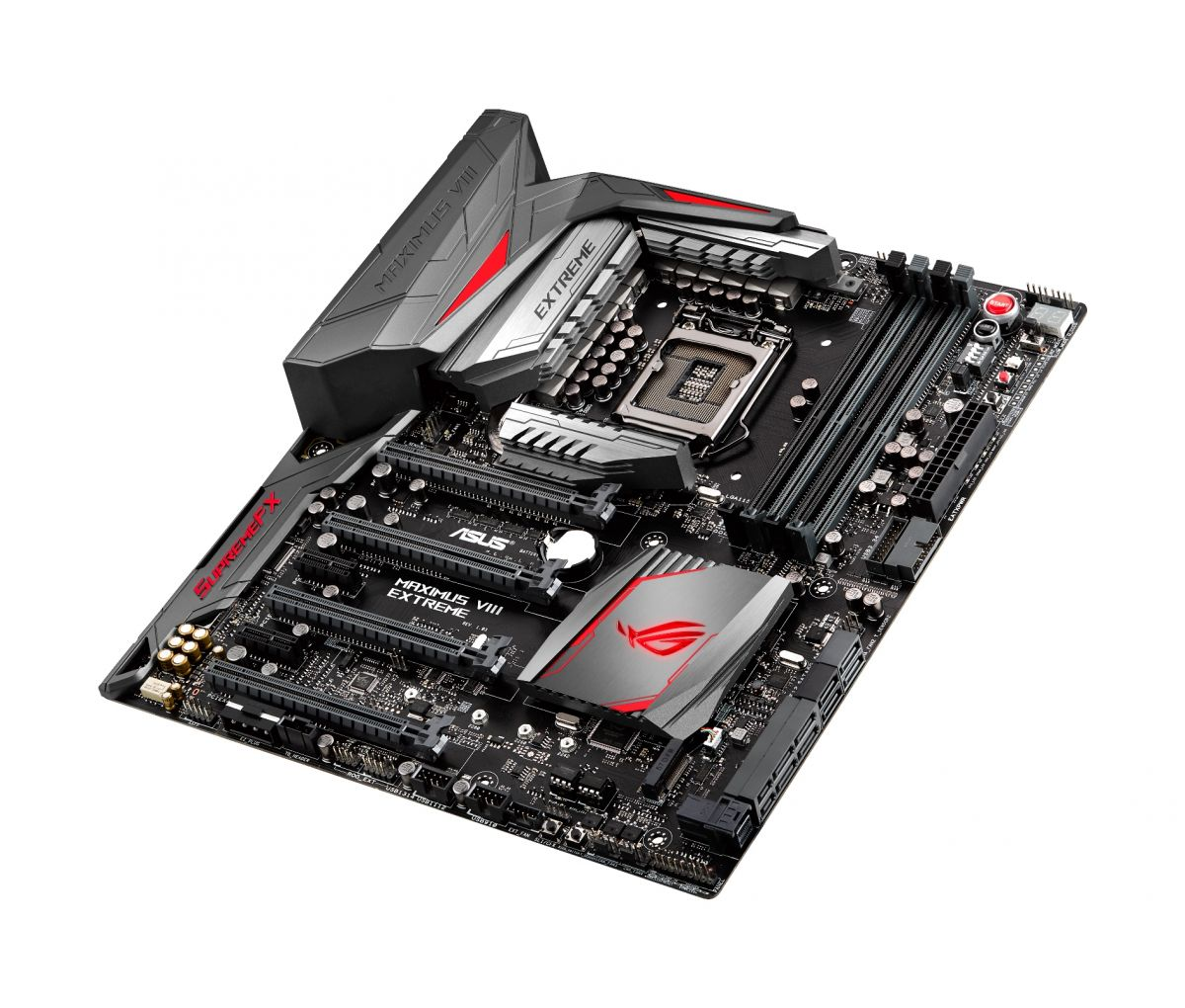 asus maximus viii hero close up motherboard