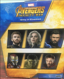 avengers infinty war six figure collectibles package