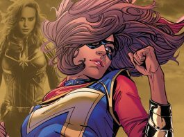 captain marvel to bring on kamala khan ms marvel