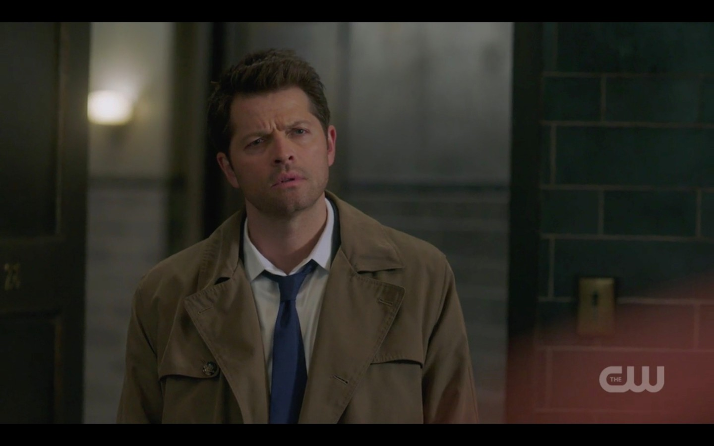 castiel says gabriel needed privacy to shoot his grace off supernatural 1321