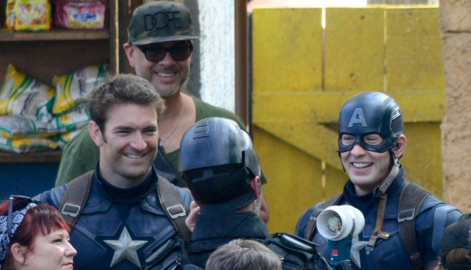 chris evans hot stunt double captain america