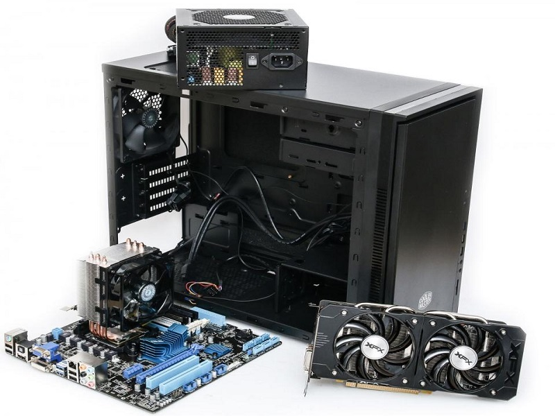 computer building starts with motherboard