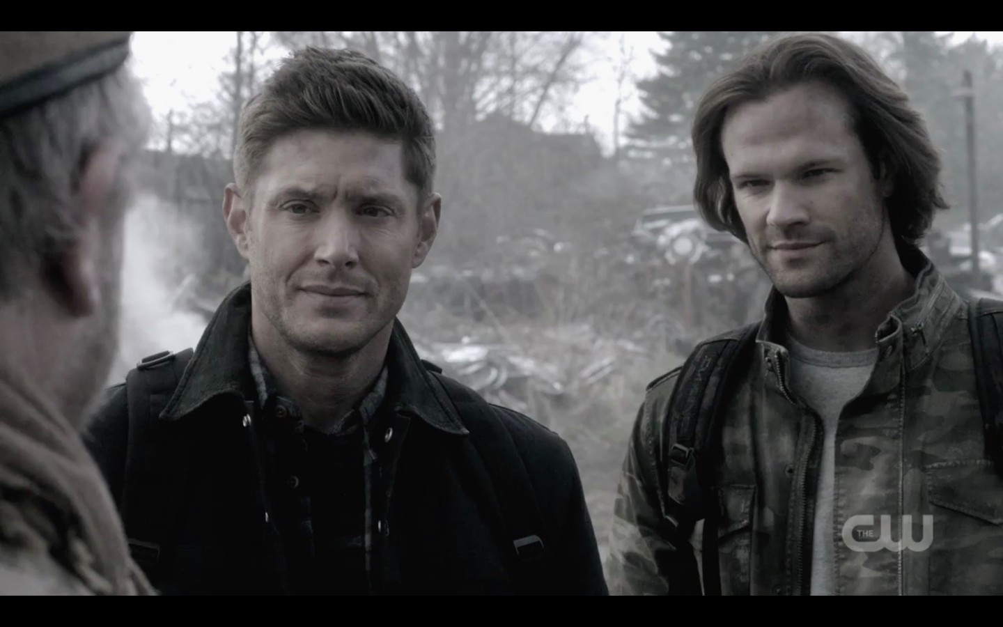 dean sam winchester react to finding bobby jim beaver supernatural exodus