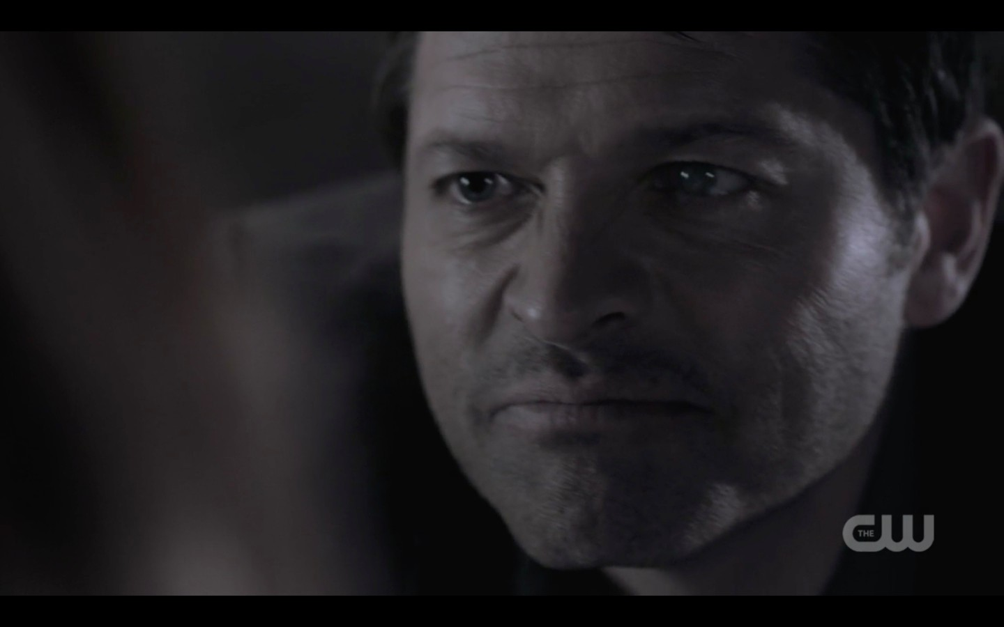 evil castiel faces off with misha collins supernatural 1322