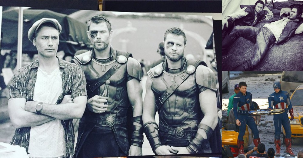 how marvel avengers cast stacks up to their stunt doubles 2018 images