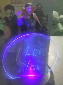 i love you captain strange led light avengers infinity war collectible holiday gifts