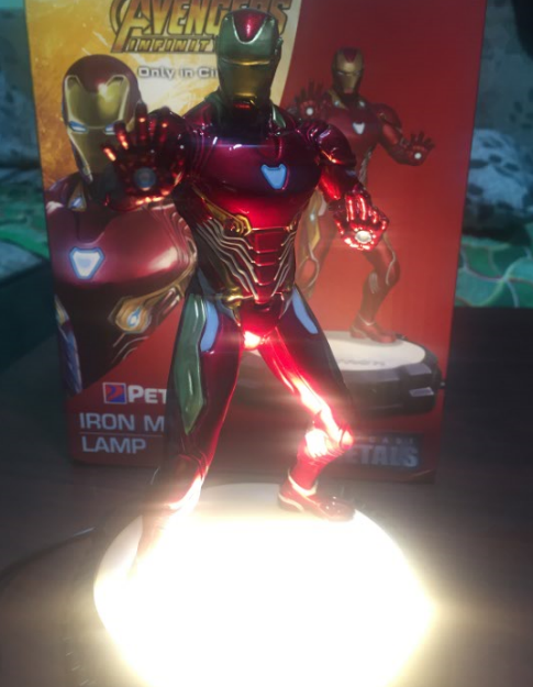 iron man avengers infinity war collectible led light gifts