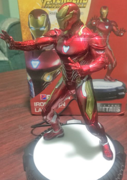 iron man south asia avengers infinity war collectible side