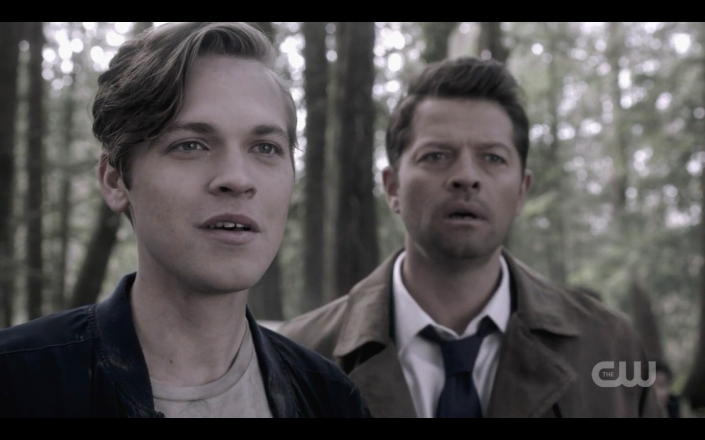 jack smiles with castiel for lucifer return supernatural