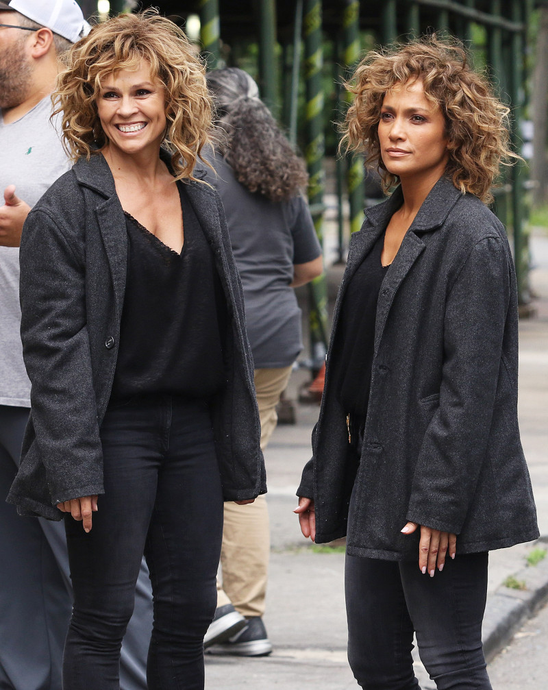 jennifer lopez with shades of blue stunt double